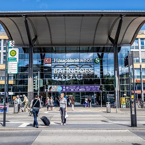 Zahnarzt Potsdam - Siemund / Hashemi - Lage der Praxis